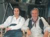 Avec Olivier Martinez dans Le hussard sur le toit