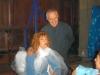 Avec Clémentine Célarié dans le film Un Coin d'azur